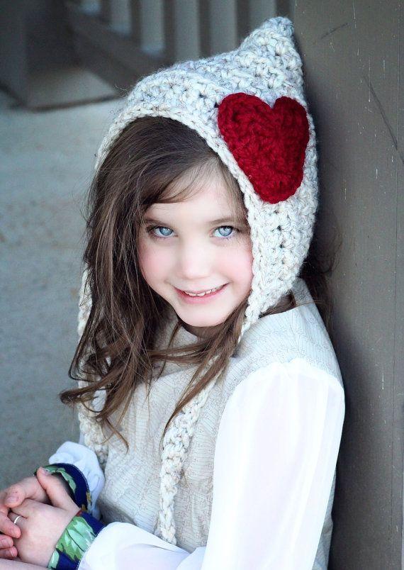 Crochet Pixie Hat sombrero del ganchillo por SimplyMadeByErin ...