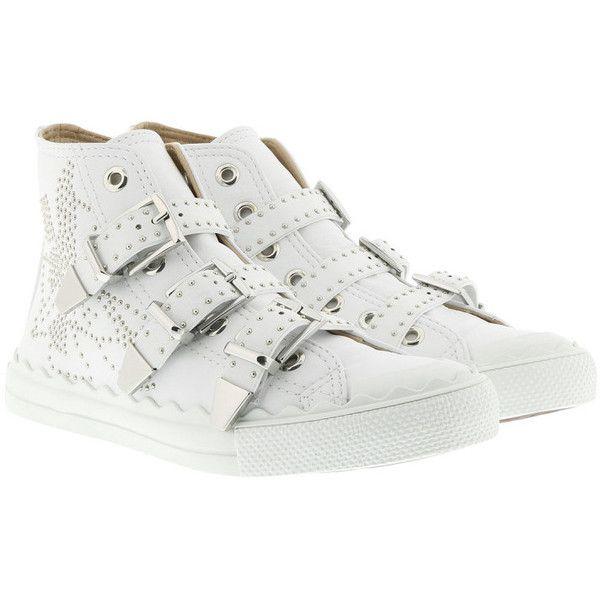 Kyle buckled hi-top sneakers - White Chlo hrHhR