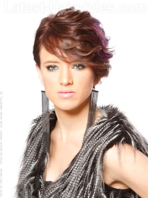 Flipped out fox short hairstyle for thick hair | Hair | Pinterest ...