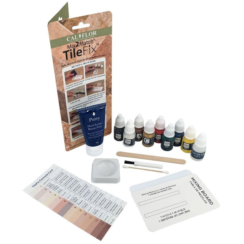 Calflor Tilefix Tile And Stone Repair Kit Fl49113cf Tile Repair Vinyl Flooring Tiles