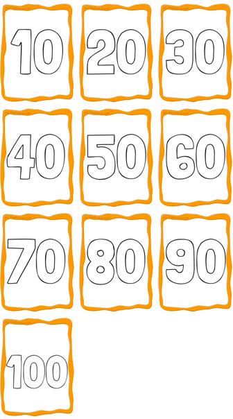 Number Flashcards Number Flashcards Flashcards Printable Flash Cards