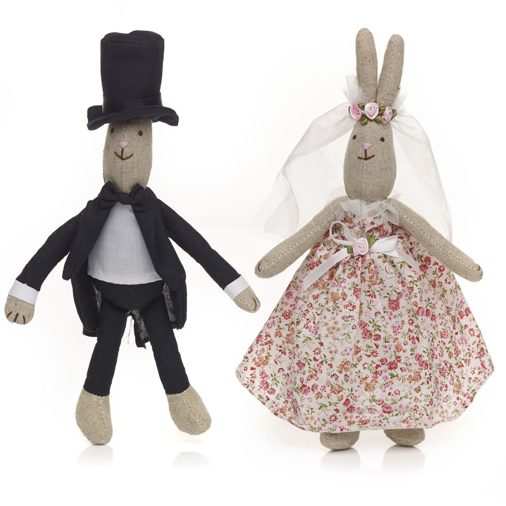 Wilko woodland wedding bride groom bunny x 2 at wilko kid wilko woodland wedding bride groom bunny x 2 at wilko negle Images