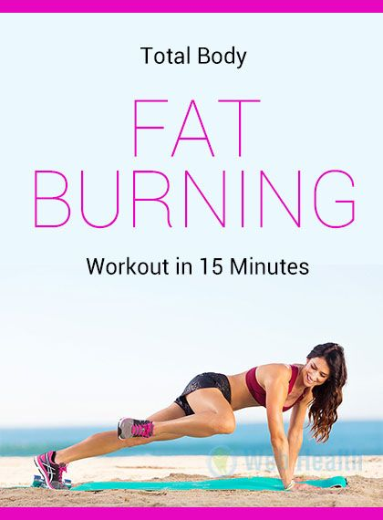 Total Body Fat Burning Workout in 15 Minutes Workout, Exercises