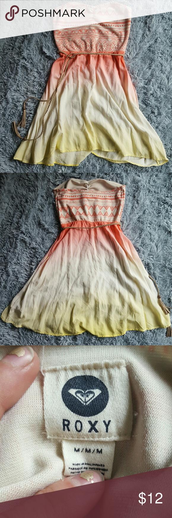Roxy Pinterest Pinterest Roxy Strapless Dress Dress Strapless YRIT4nwq