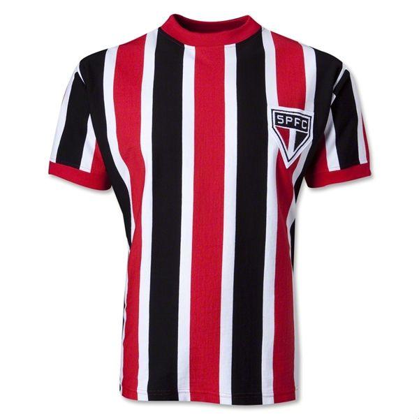 Sao Paulo 70 s Retro Soccer Jersey Classic Football Shirts 75e9efafccec4