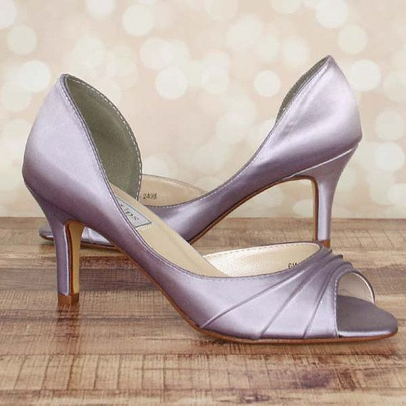 Wedding Shoes Orchid Purple D'Orsay Style By