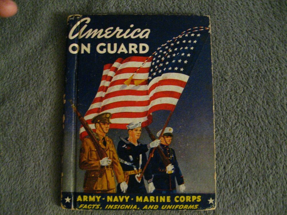 America On Guard By Thomas Penfield Vintage 1941 USA