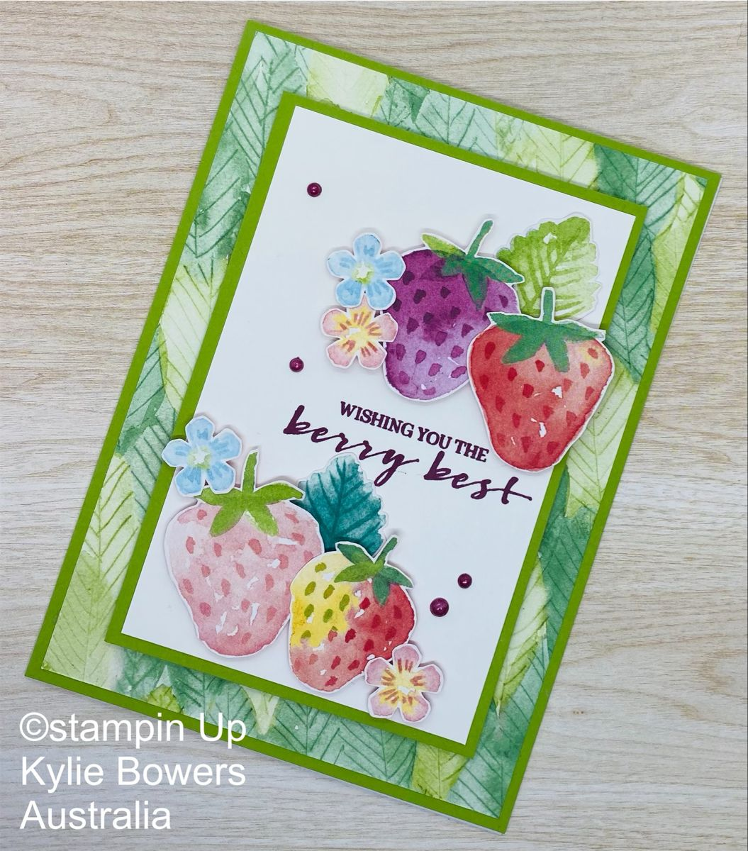 Delightful Berrys Stampin up