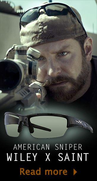 941ed38dd7 Bradley Cooper as Chris Kyle in American Sniper - Wearing Wiley X ...
