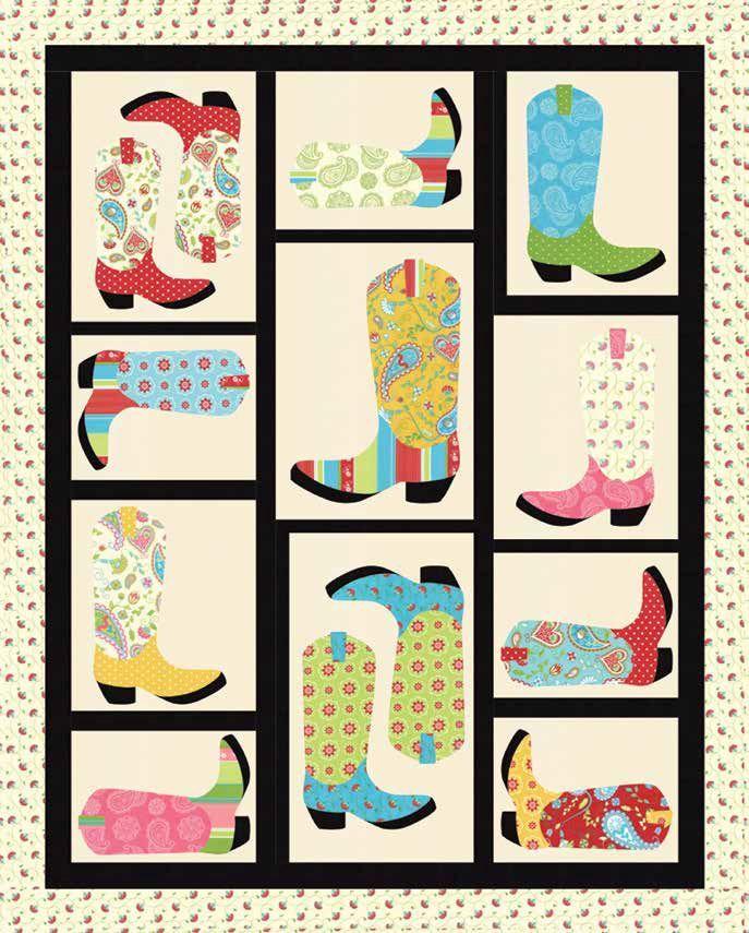 Image result for boot handprint quilt   CBB quilt   Pinterest : quilt boots - Adamdwight.com