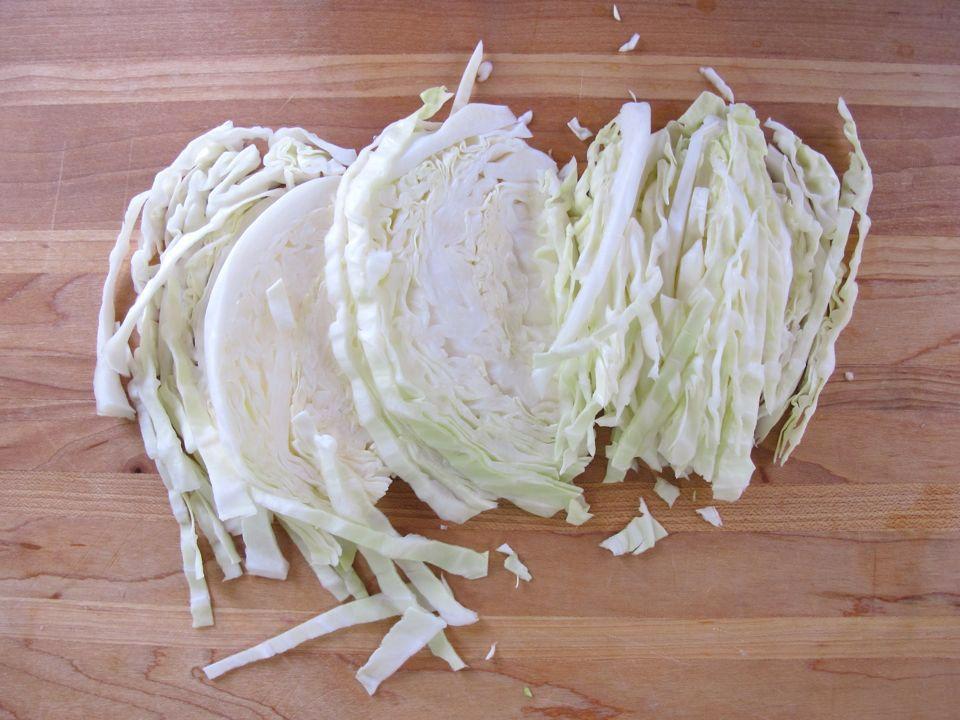 How to Shred Cabbage 8   How to shred cabbage, Cabbage ...