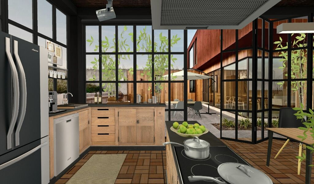 girdscape series used in kitchen by koji via homestyler for ios and android cocinas vías on kitchen remodel apps id=34194