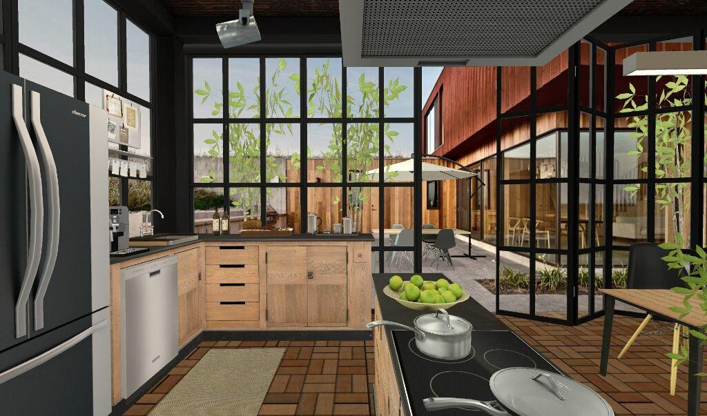 Girdscape series used in kitchen by koji via homestyler