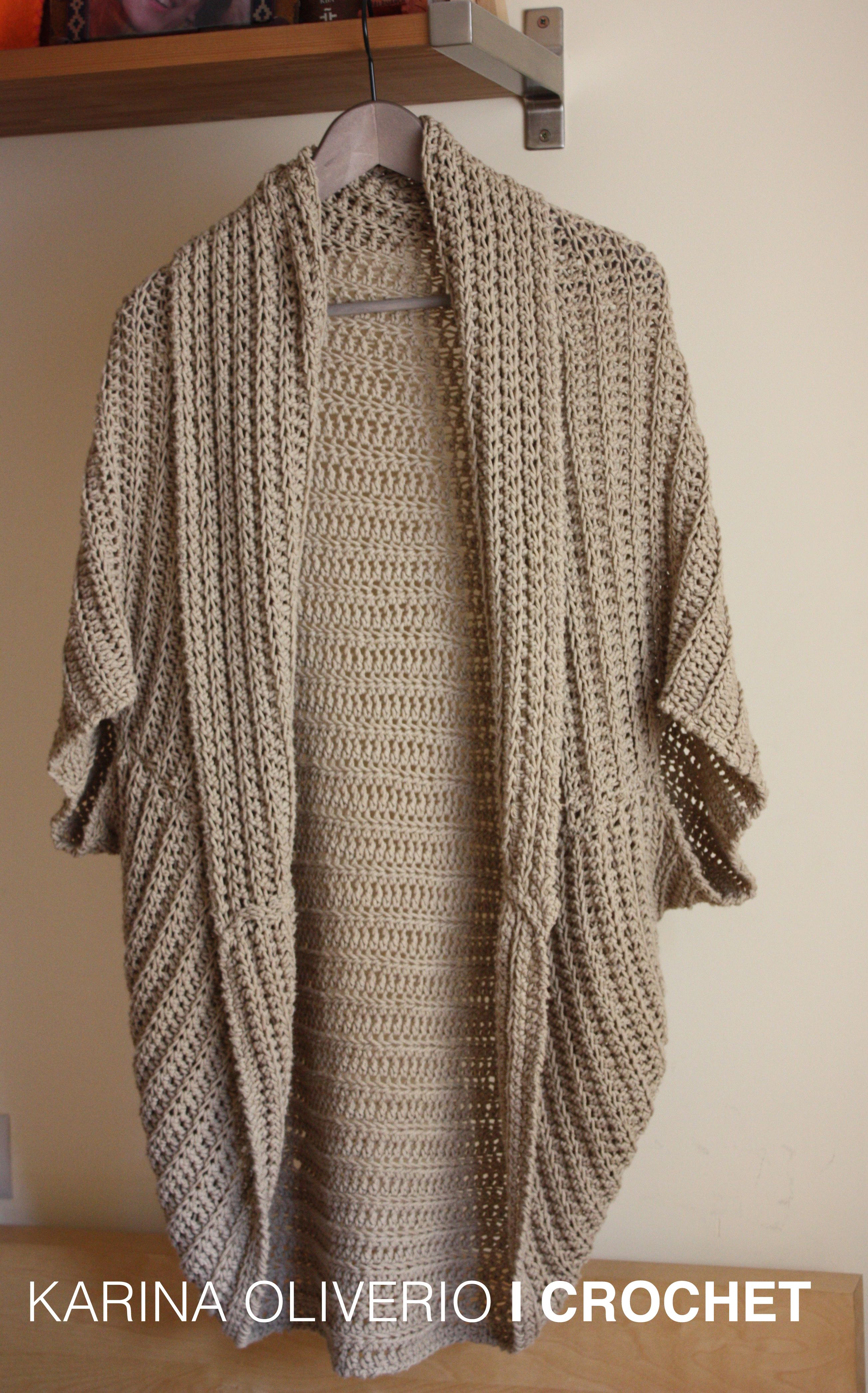 Crochet shrug pattern, bolero tejido a crochet con patrón. | Crochet ...