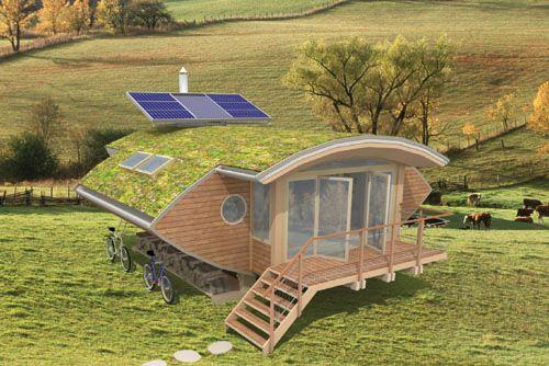 Landark projet de maison en bois cologique construite en kit alternative living casas - Maison ecologique en kit ...