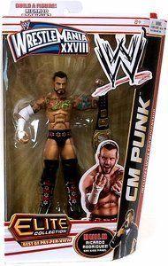 CM Punk WWE Elite Mattel BAF Ricardo Rodriguez Wrestlemania 28 PPV Exclusive TRU