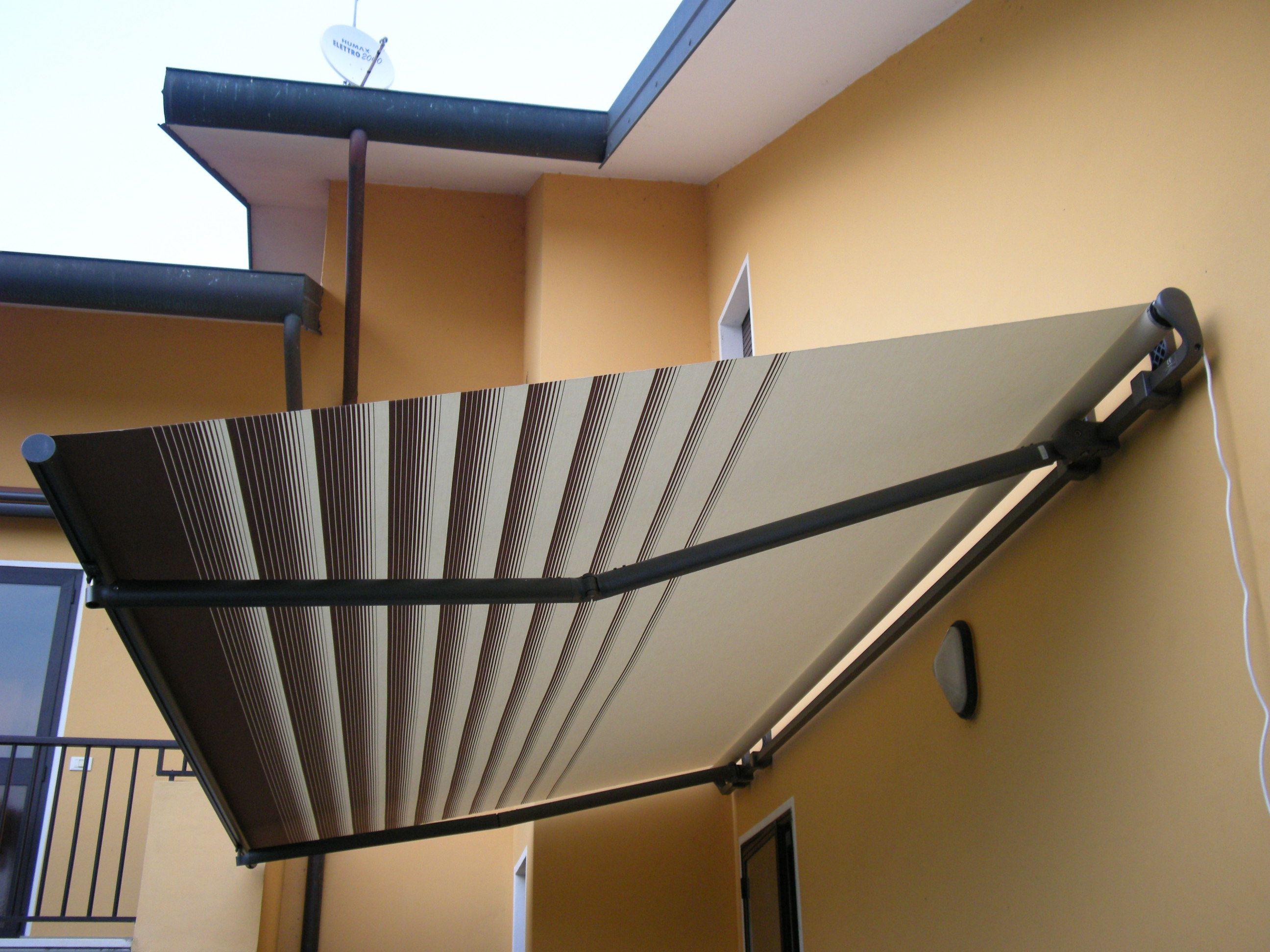 European window coverings  klip folding arm awning  open wall by inspired window coverings