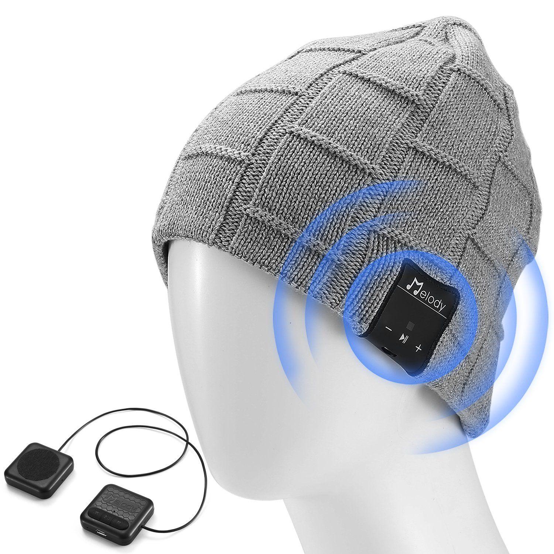 LNKK Bluetooth Beanie Hat, Superior Wireless Music Beanie