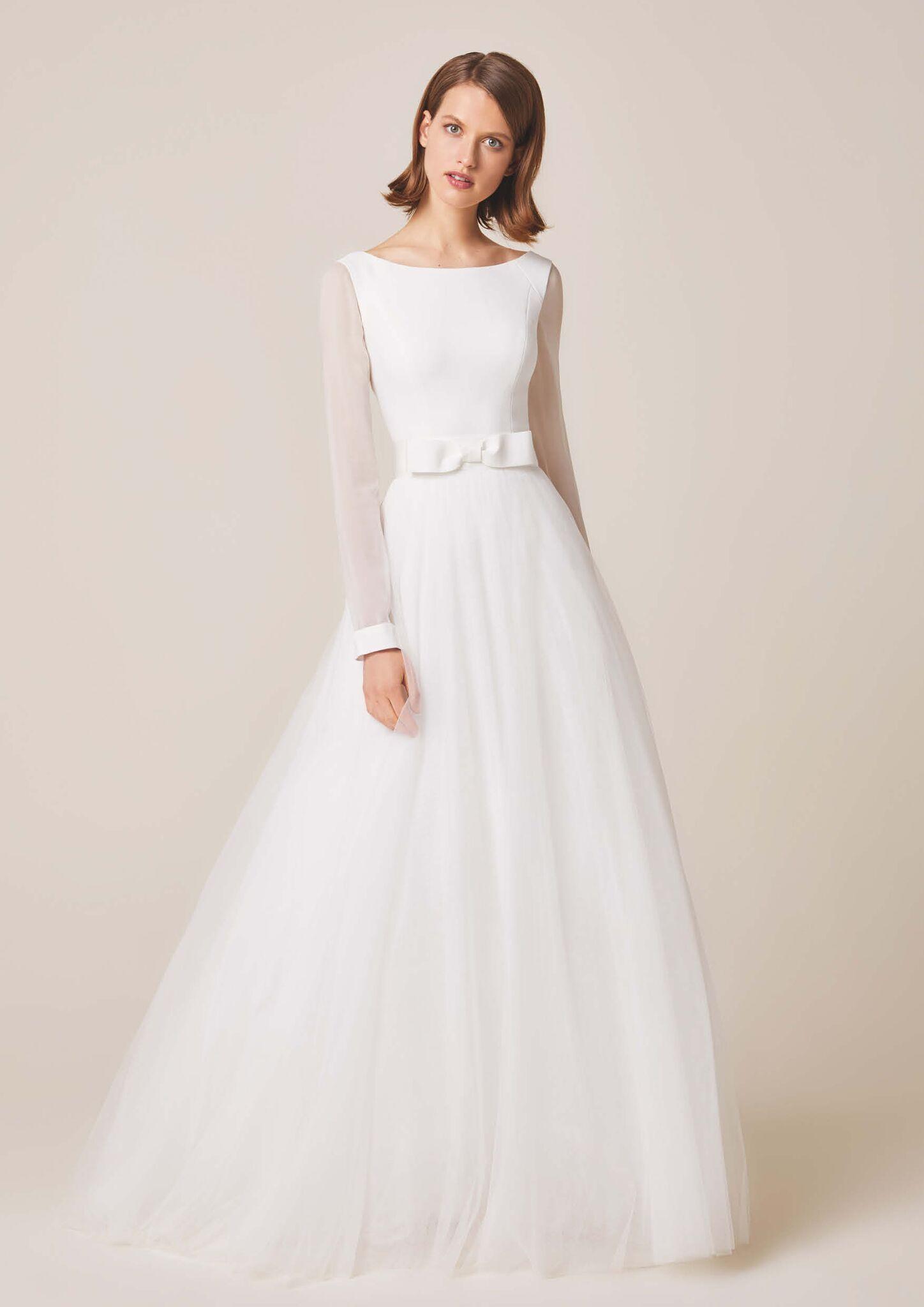 Jesus Peiro Lara Spring Wedding Dress Occasion Dresses Fashion Wedding Dress Long Sleeve