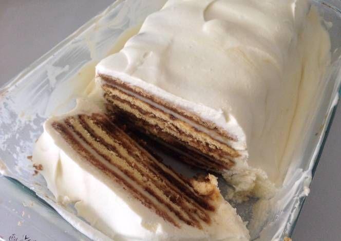 Torta helada de galletas de champaña | Recipe | Navidad