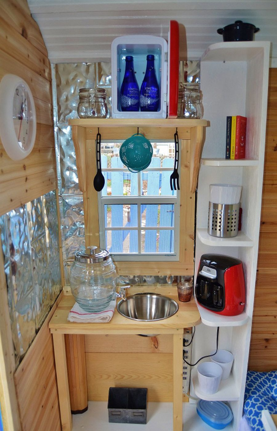 Great No Plumbing Sink Solution Tiny House Swoon Outdoor