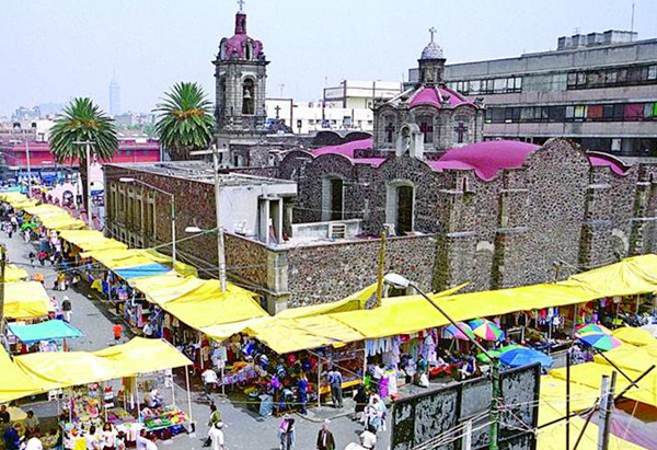 Mercado de la Merced - the largest retail traditional food ...