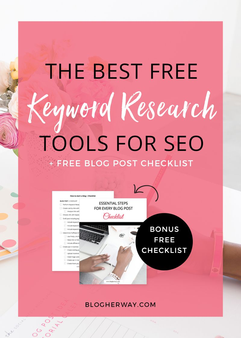 The Best Free Keyword Research Tools For SEO Seo