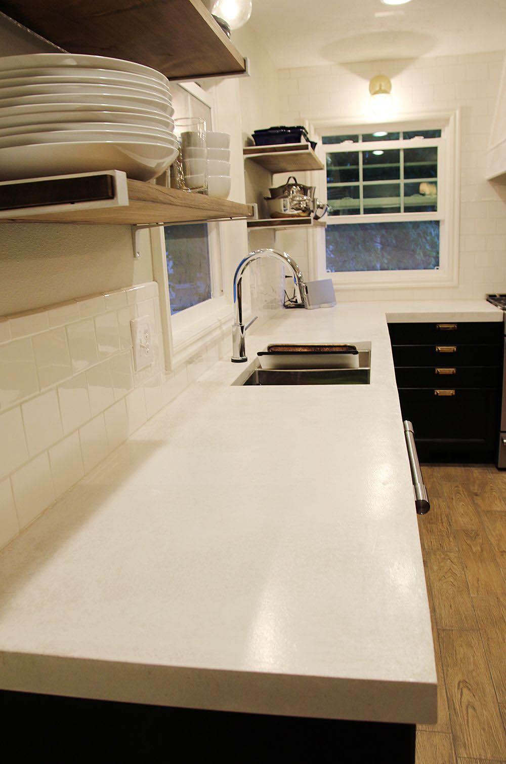 Concrete Countertops Advantages And Disadvantages White Concrete
