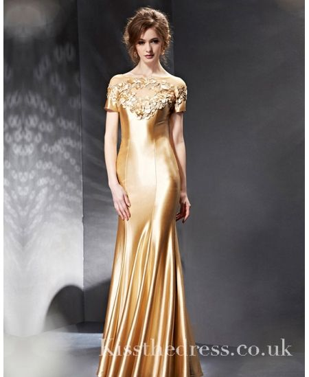 Silk evening dresses uk