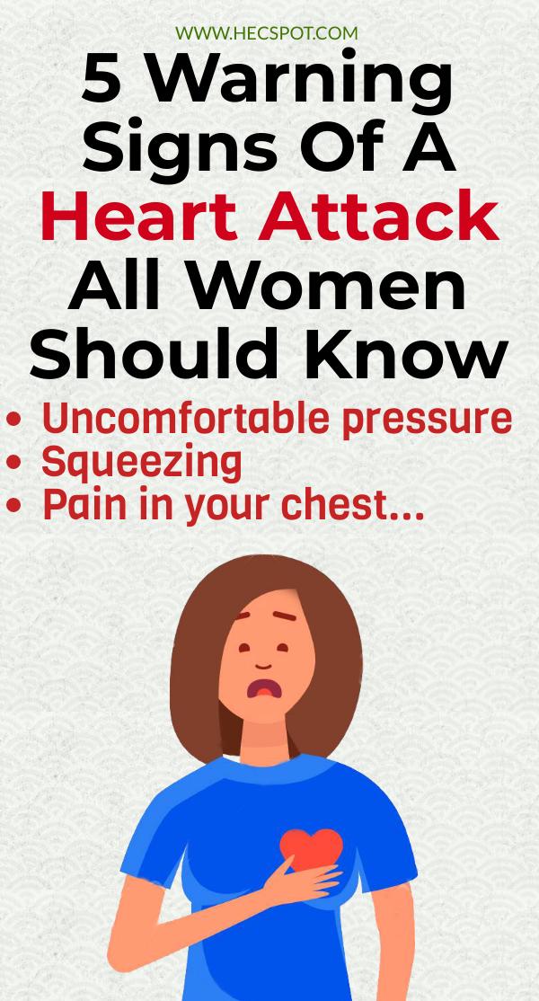 Women health tips warning signs