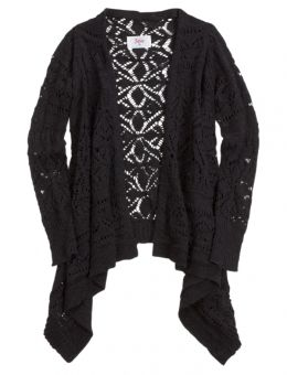 Crochet Waterfall Cardigan | Jackets/Sweaters/Vests | Pinterest ...
