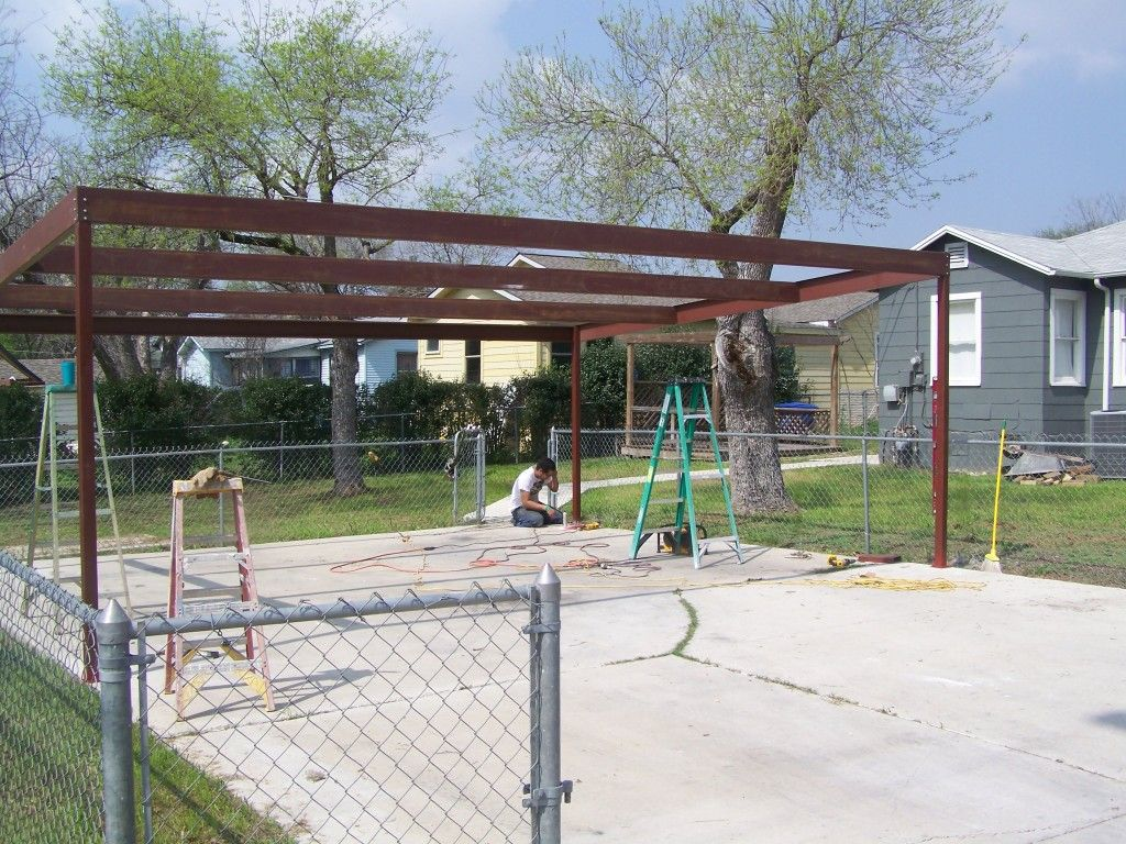Metal Two Car Carport North Central San Antonio Carport