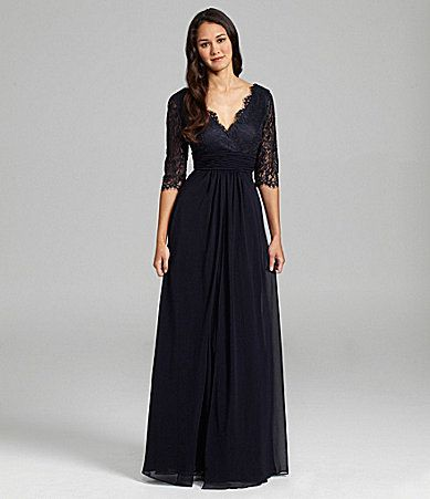 Js Collections Lace And Chiffon Gown Mother Of The Bride