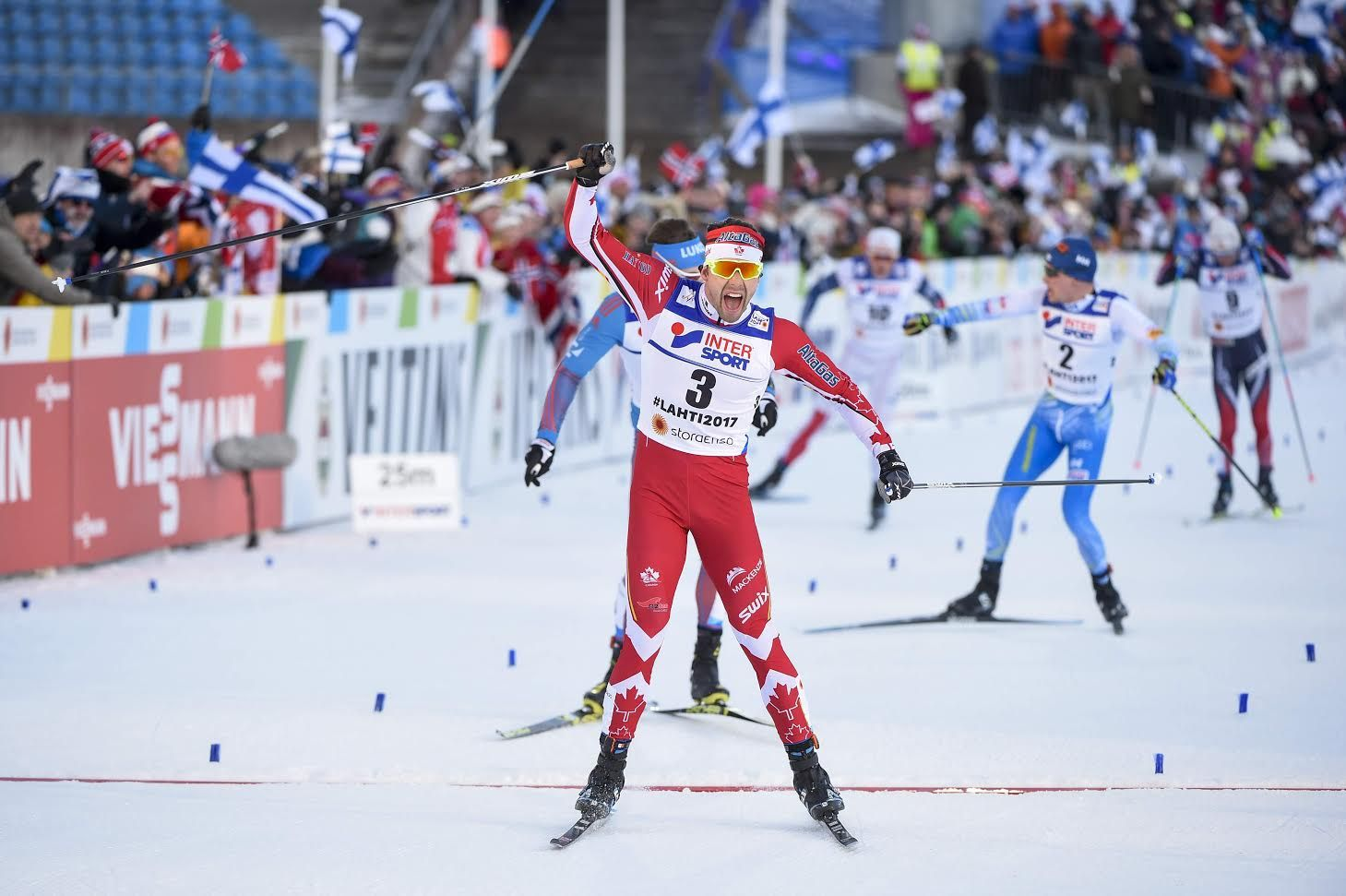 Canada's Alex Harvey Crowned World Champion in Cross
