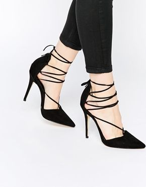 Buy Women Shoes / New Look Heeled Ghillie Court Shoe