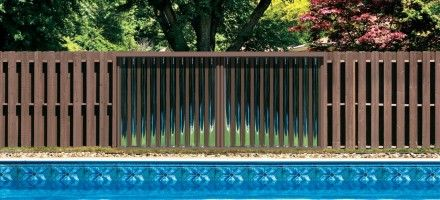 This Attractive Fence Panel Is A Solar Pool Heater With Images