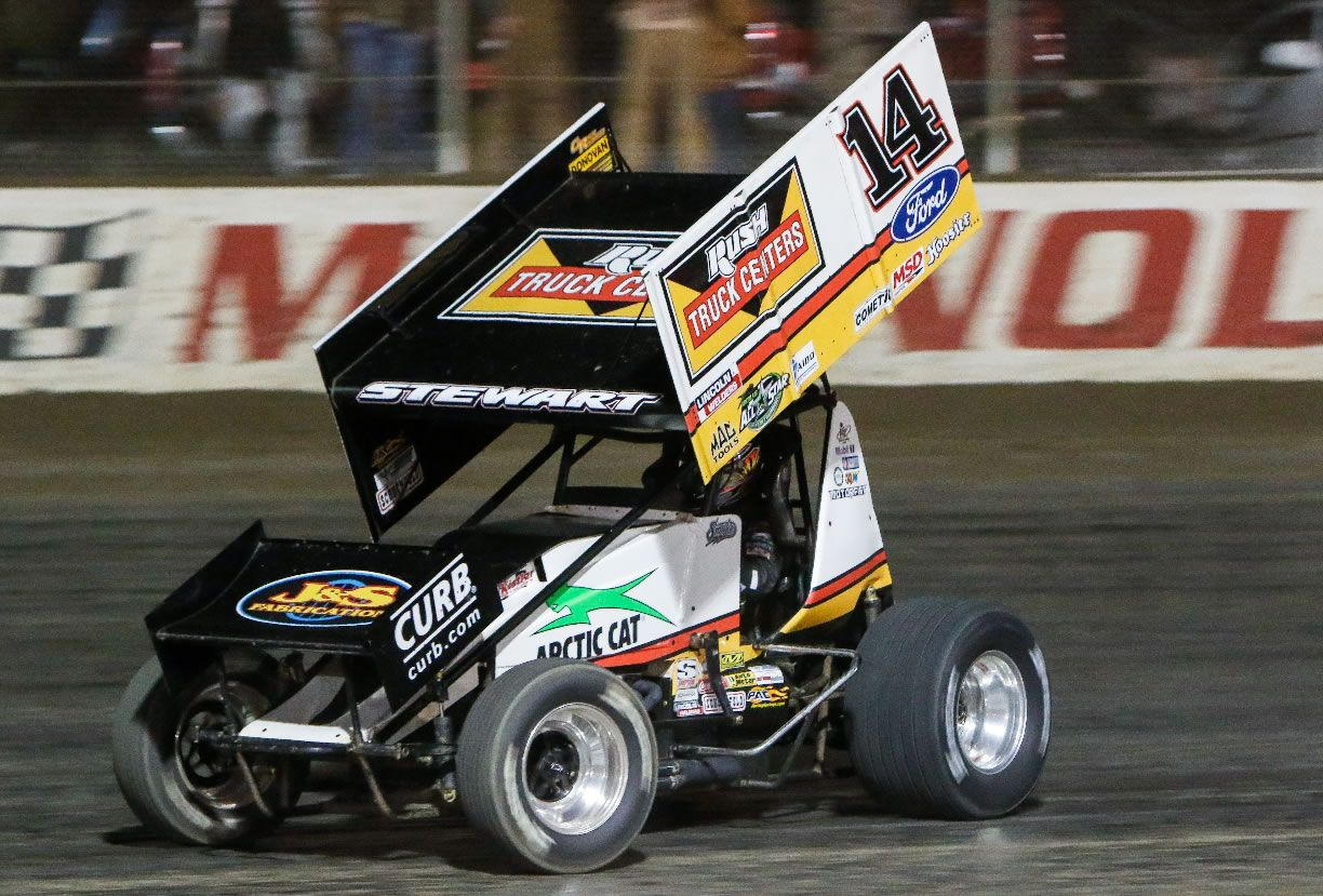 Photo Gallery USCS Sprints at The Mag Sprint cars, Dirt
