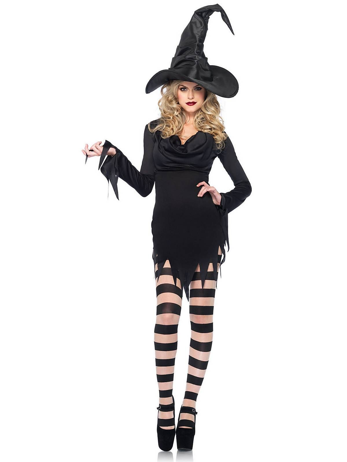 Y Tattered Witch Dress Costume Womens Costumes