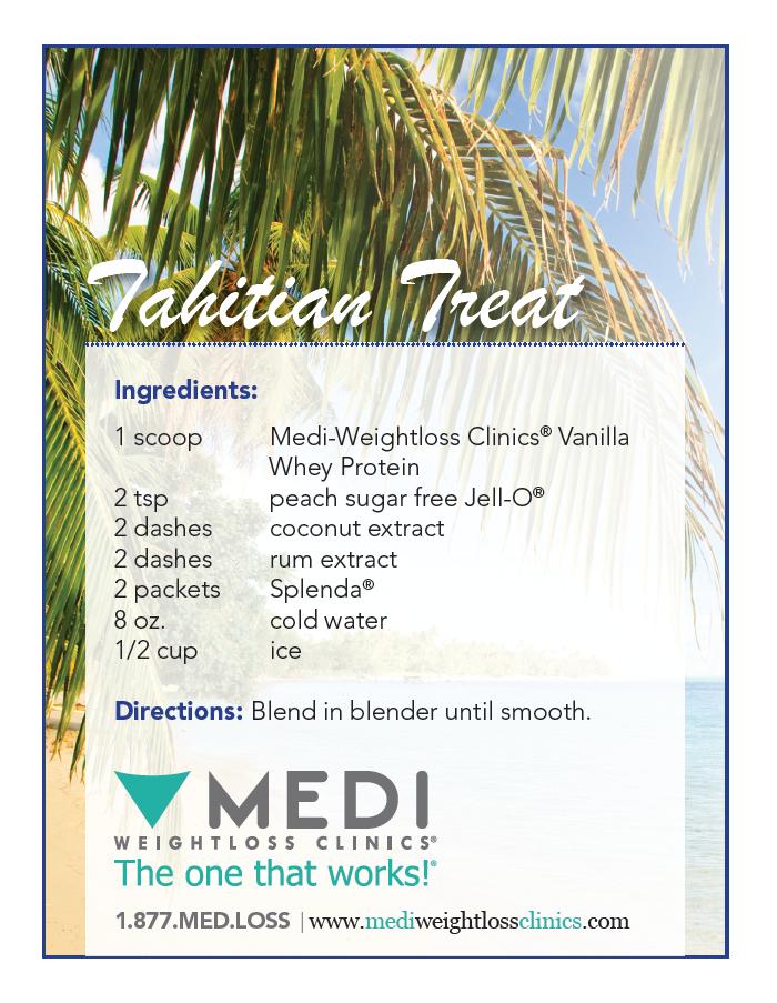 Tahitian Treat Healthy Protein Shake Recipe Healthy Delicious