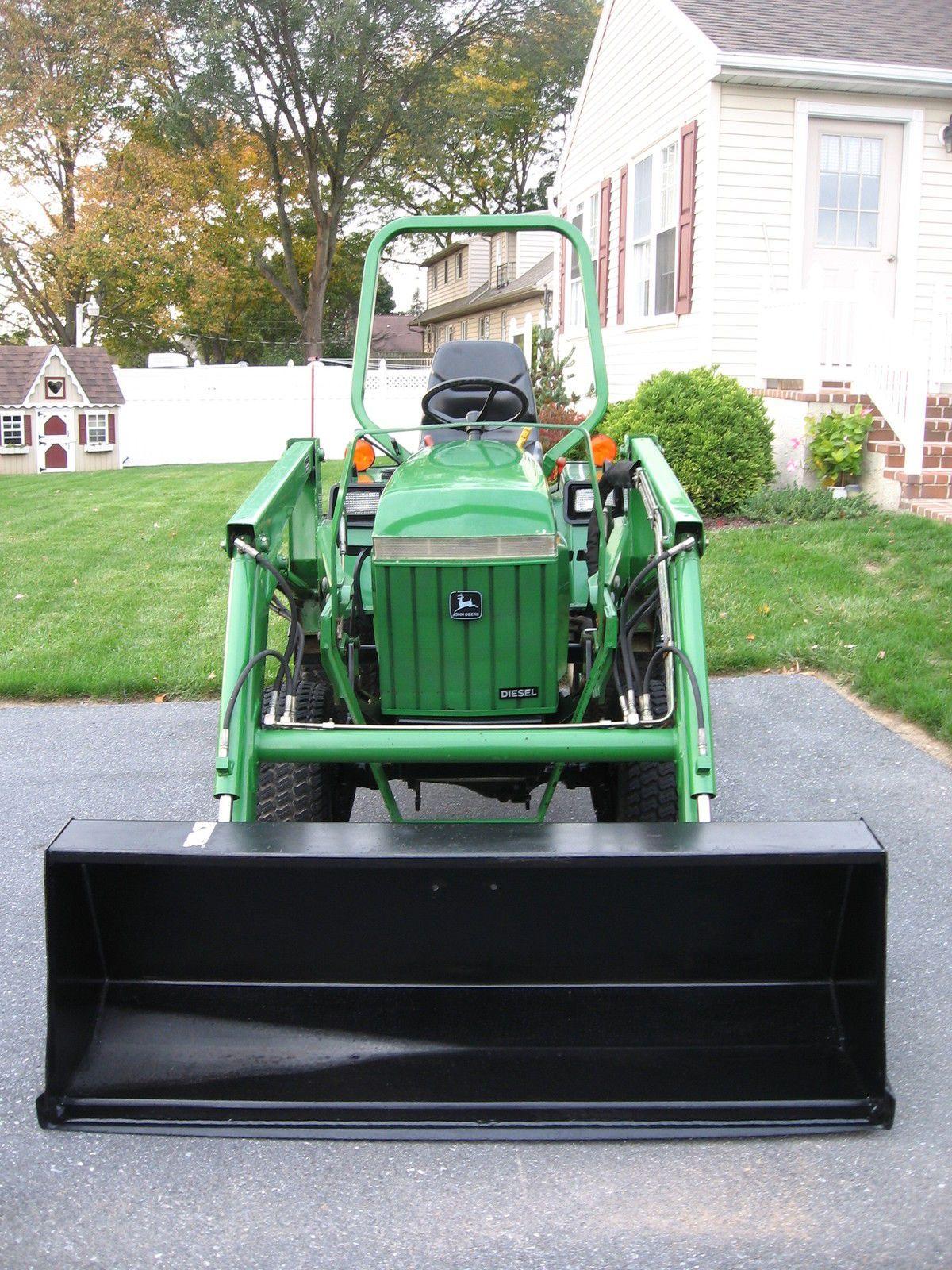 4x4 Compact Tractors For Sale : compact, tractors, Deere, Garden, Compact, Tractors