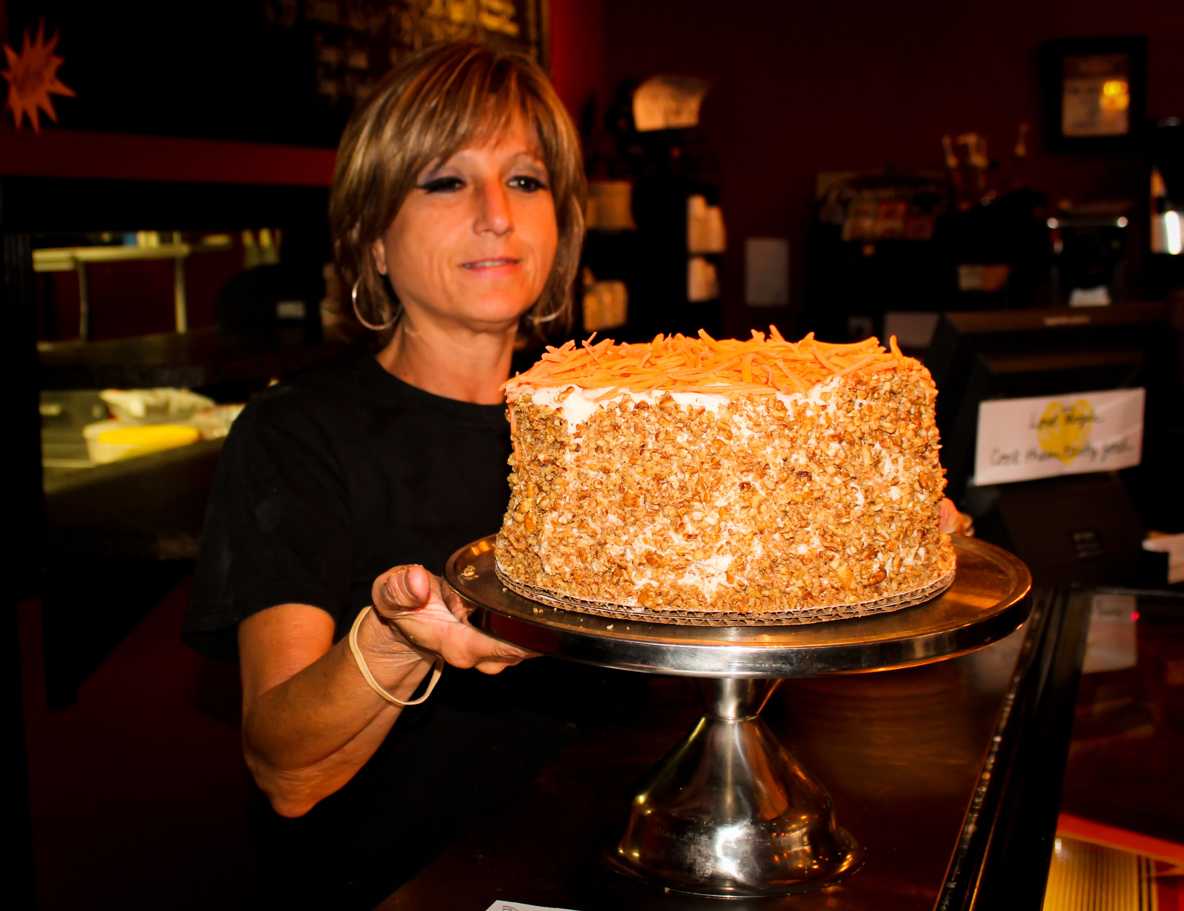 Cafe bonins carrot cake with images food carrot cake