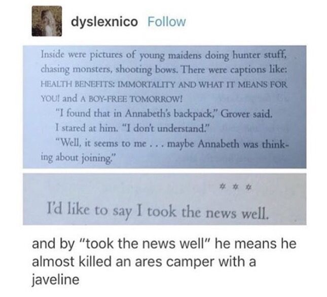 At Least Nobody Died Percy Jackson Funny Percy Jackson Books Percy Jackson Memes