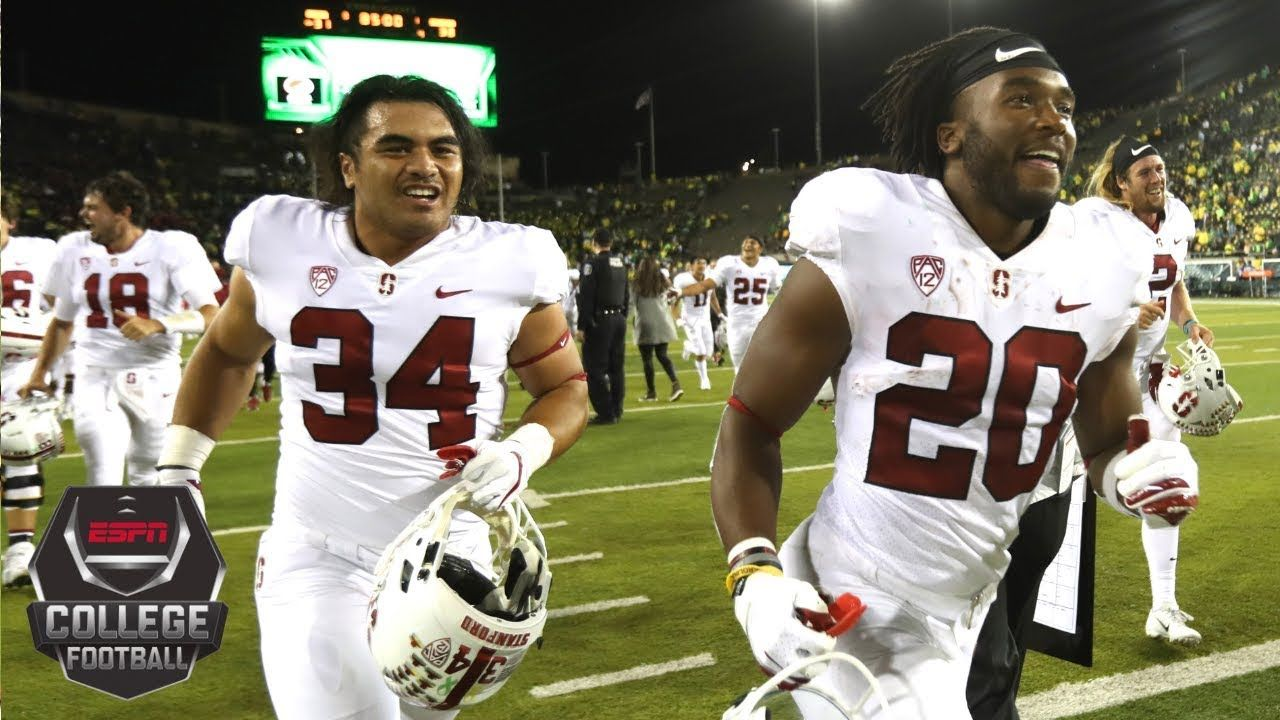 College Football Highlights Stanford Tops Oregon In Ot After Wild