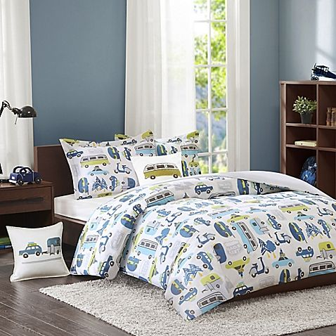 Twin Comforter Sets, Travel Themed Twin Bedding