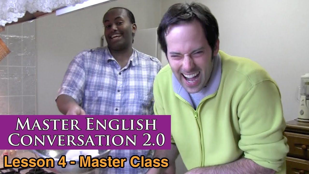 Real English Conversation & Fluency Training - Food & Baking - Master En...