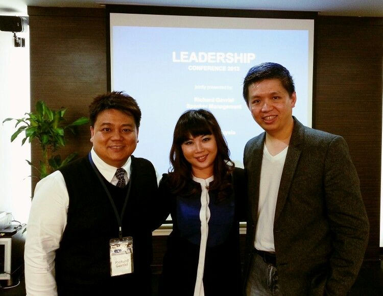 With Coaching organizing maestro Richard & Founder of Celebrity's Will Stephanne