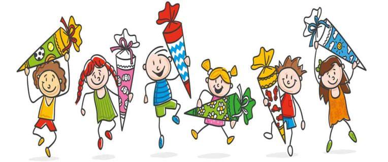 Schultüte basteln – Zuckertüte zur Einschulung | Schultüte basteln,  Schultüte, Basteln