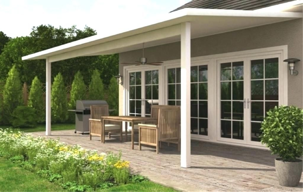 Adding A Porch Covered Patio Image Of Back
