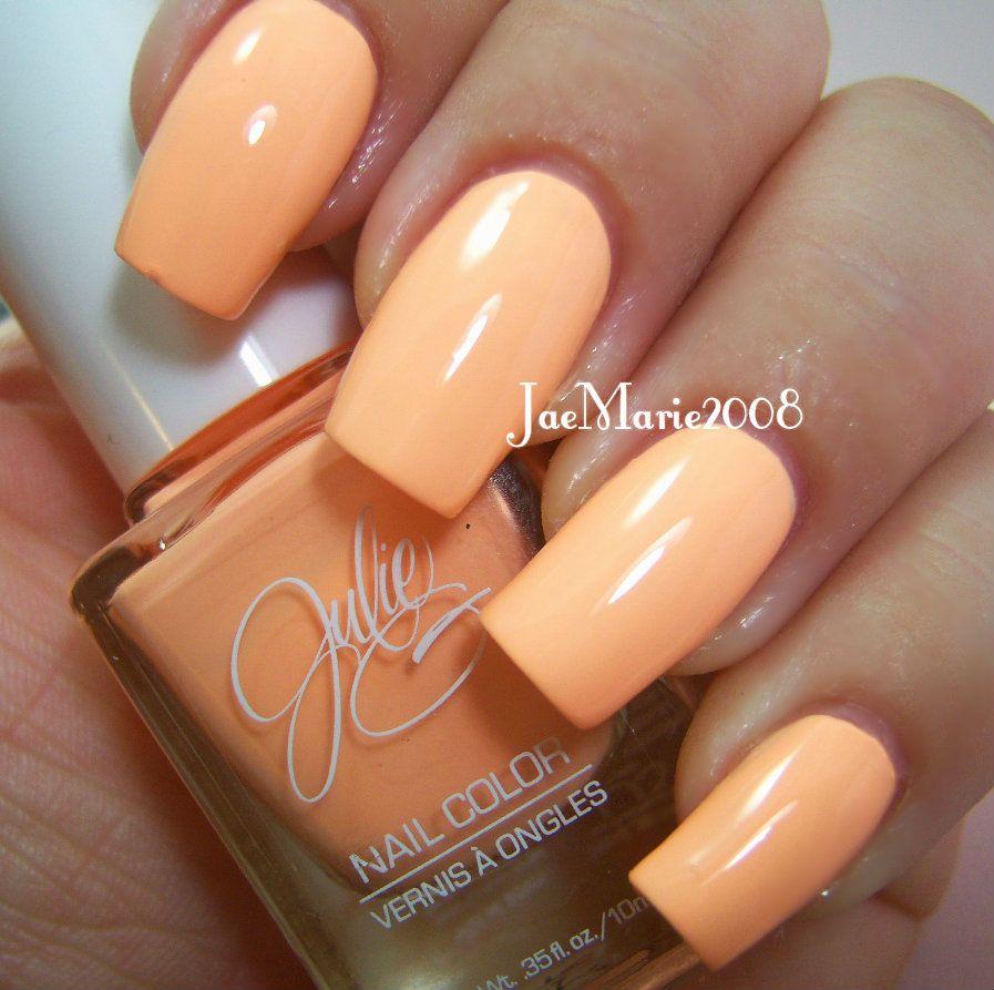 9 To 5 By Julieg Creme Pastel Orange With Images Nail Polish