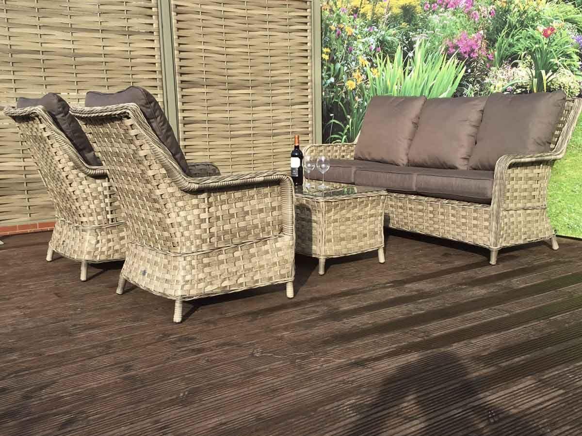 8c49648f6c0c Rattan Corner suite Sale | Mia | Homeflair | Corner Sofa | Table | Stools
